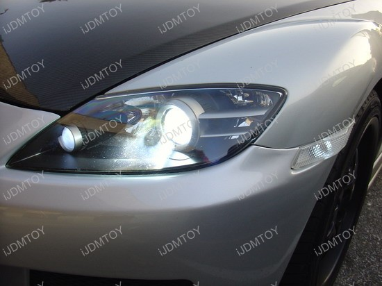 Mazda - RX - 8 - HID - LED - light - bulbs - 12